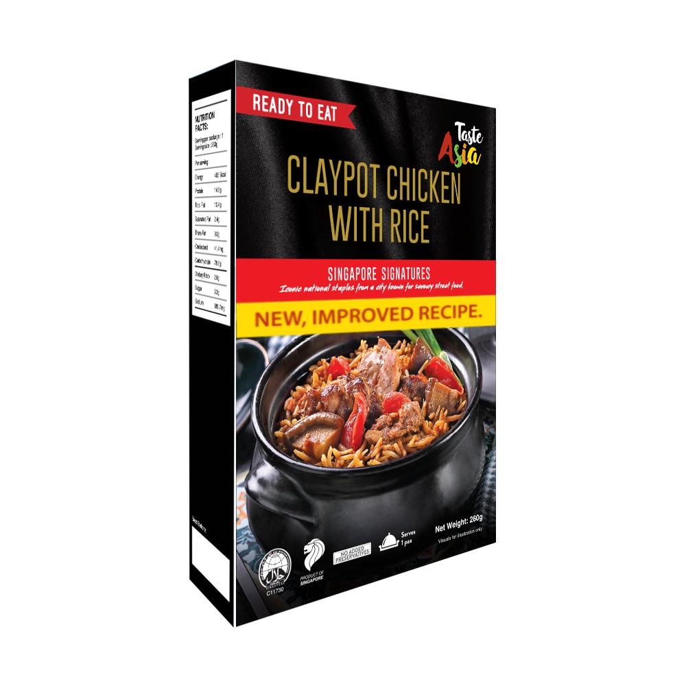 Claypot Chicken with Rice