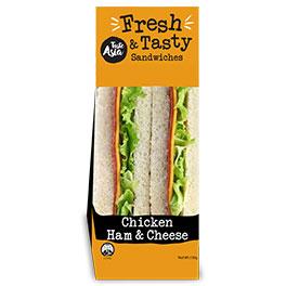 Chicken Ham & Cheese Sandwich