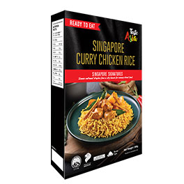 Singapore Curry Chicken Rice